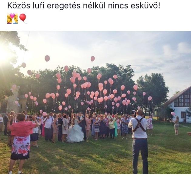 lufi lufieregetés fesztivál esküvő